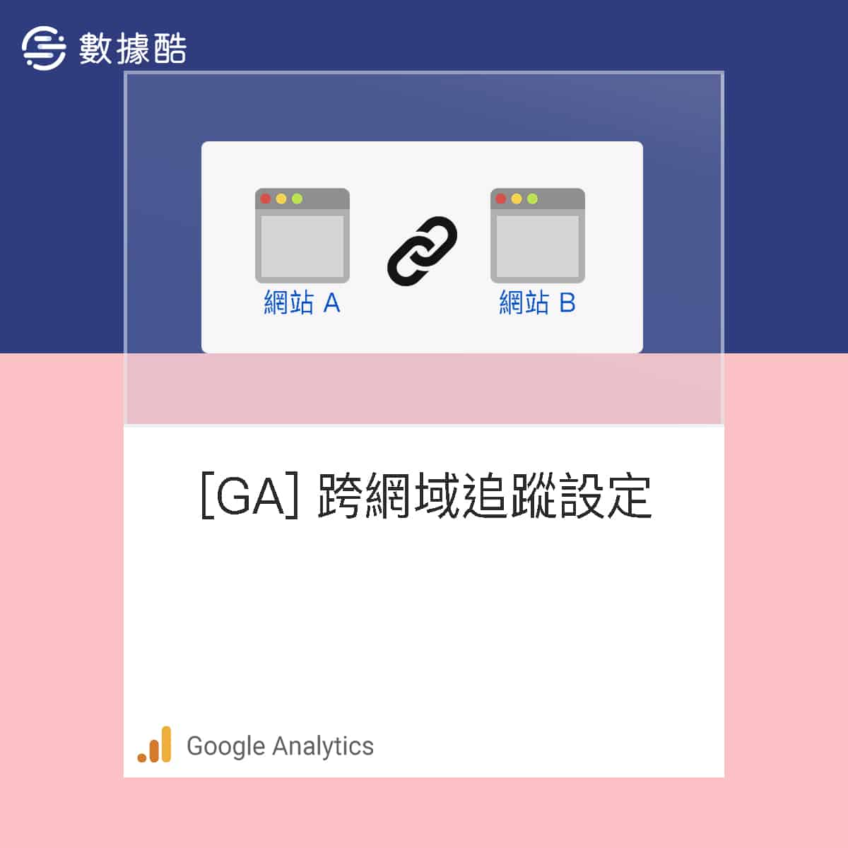 GA 跨網域 追蹤 設定
