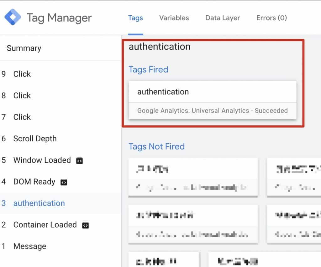 送出帶有 user id 的 authentication 事件