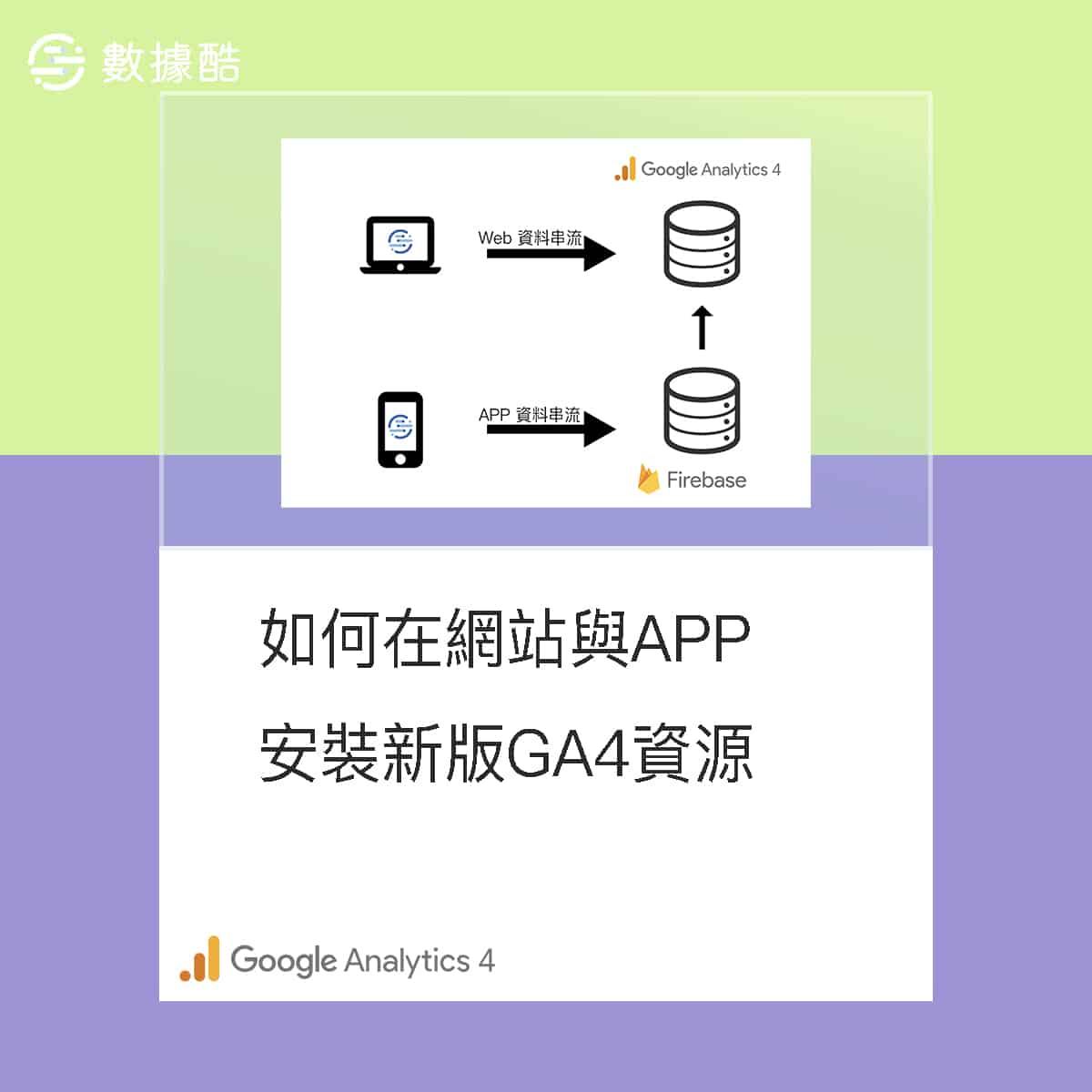 如何在網站與APP安裝新版 Google Analytics 4 資源