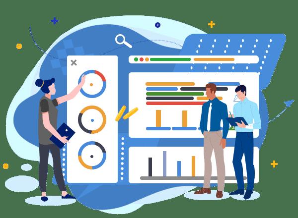我們幫助企業取得最有價值的數據,以數據驅動決策