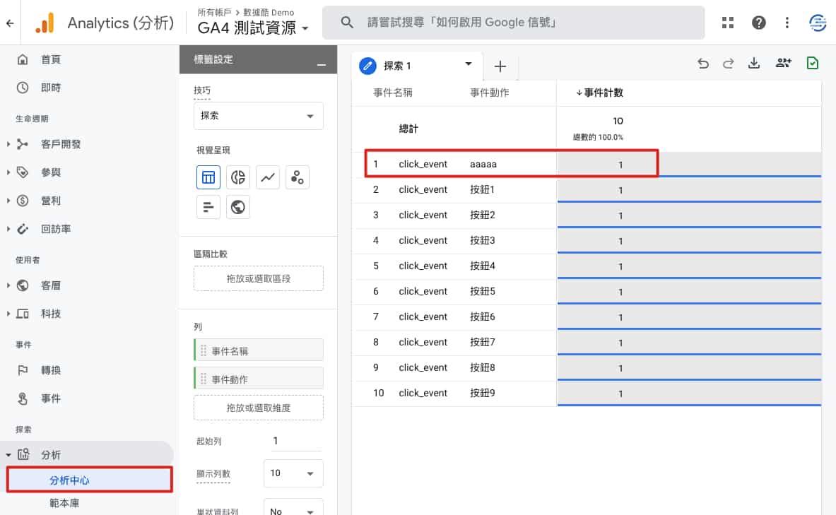 Step1: Google Analytics 4 找出要刪除的異常數據